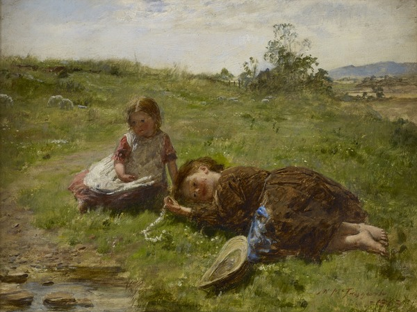 Compositional Study for Spring ('The Daisy Chain')