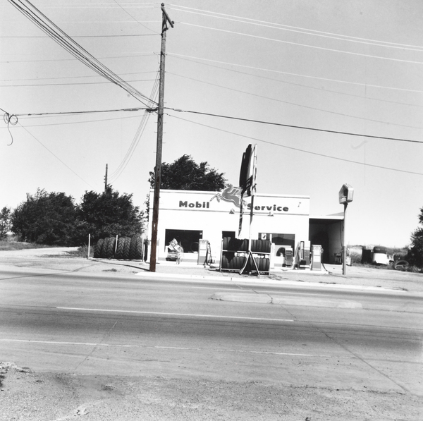 Mobil - Shamrock, Texas (from Five Views from the Panhandle Series)