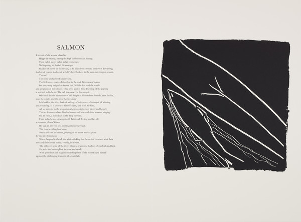 Salmon (from 'The Scottish Bestiary')