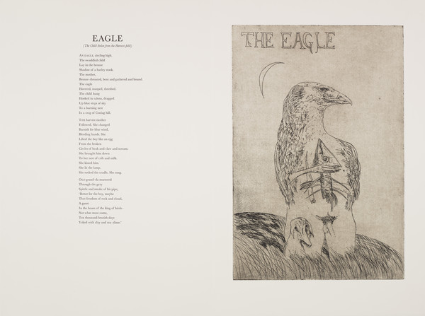 Eagle (from 'The Scottish Bestiary')