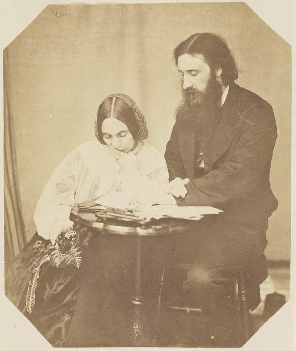 George MacDonald, 1824 - 1905, poet and novelist, and his wife Louisa MacDonald (née Powell), 1822 - 1902