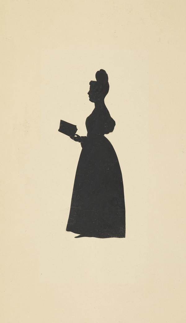 Silhouette By August Edouart 1831 Decorative Arts Other Antique Decorative Arts