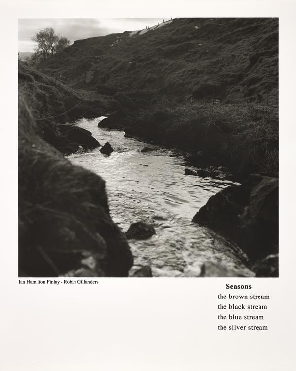 Seasons (with Robin Gillanders) (from the portfolio 'Dear Stieglitz') (1994)