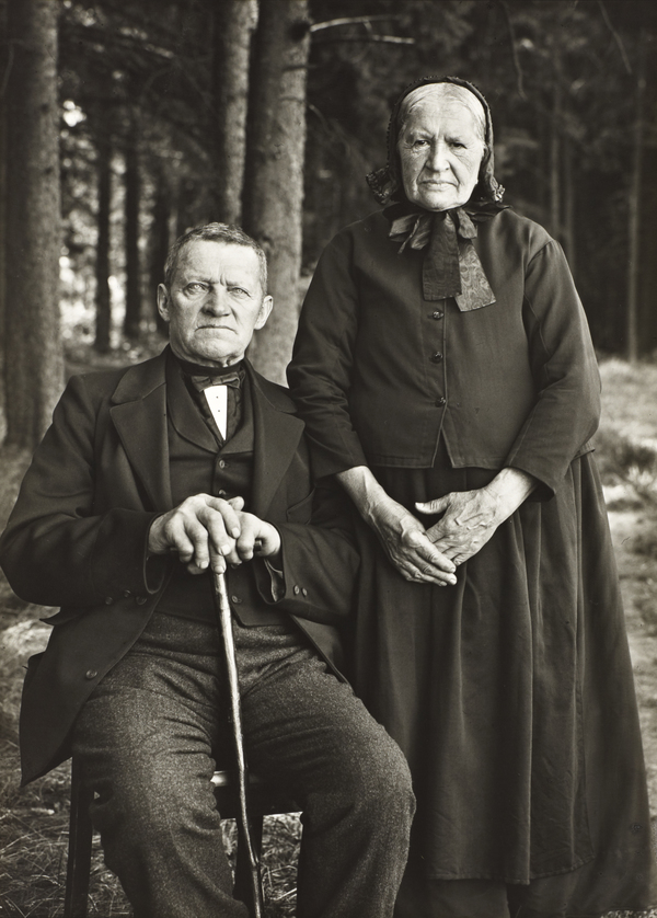 Farming Couple – Propriety and Harmony, 1912 (1912)