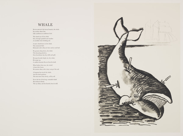 Whale (from 'The Scottish Bestiary')
