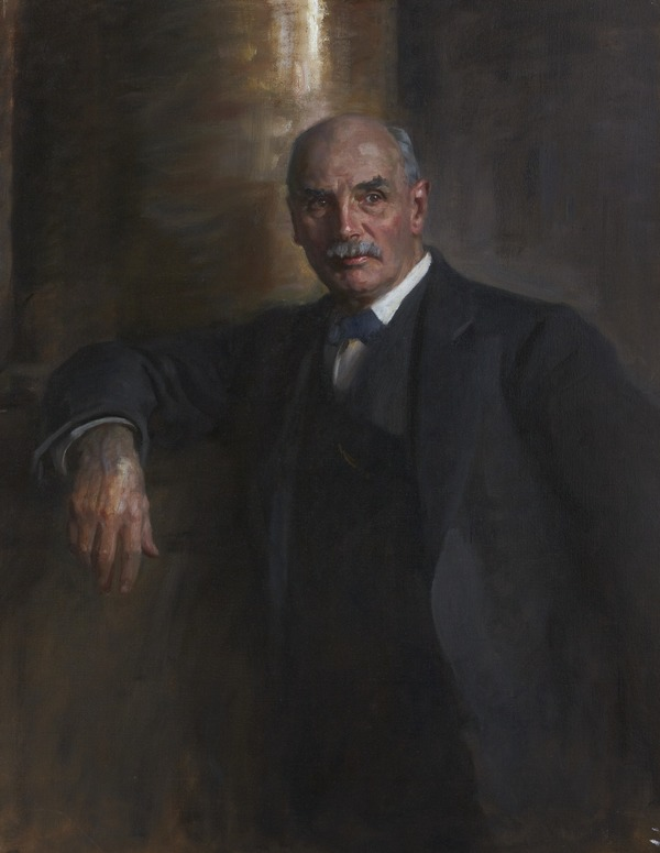 George Nicoll Barnes, 1859 - 1940. Statesman. (Study for portrait in Statesmen of the Great War, National Portrait Gallery, London)
