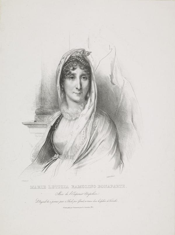 Madame Mère (Maria Laetitia Ramolino Bonaparte, 1750 - 1836) (see NG 2461)