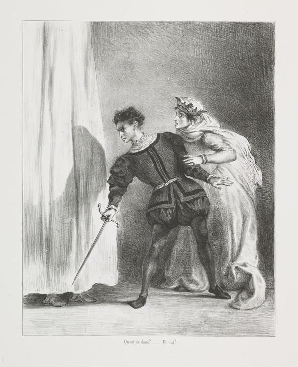 Le Meurtre de Polonius' (The Murder of Polonius) (Act III, Scene IV)