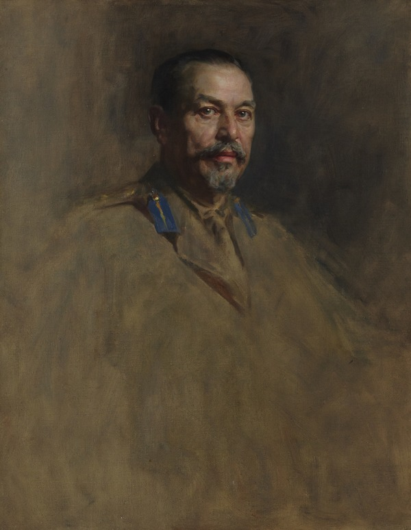 General Louis Botha, 1863 - 1919. Soldier and statesman. (Study for portrait in Statesmen of the Great War, National Portrait Gallery, London)