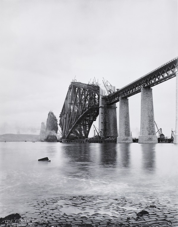 The Forth Bridge. From the Hawes Pier.