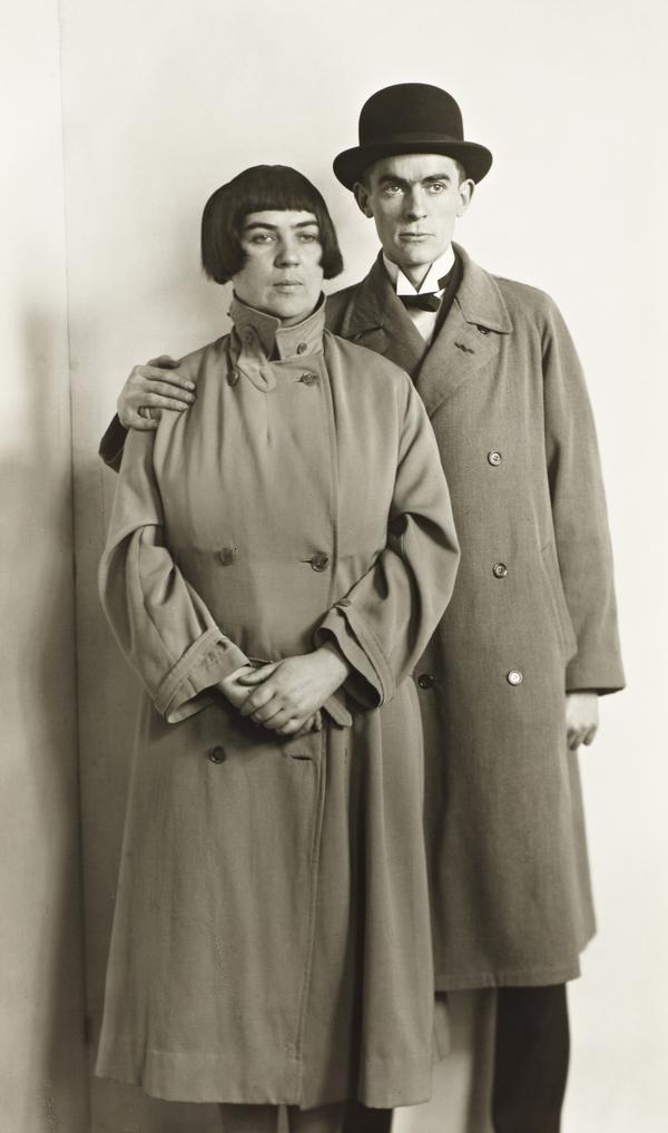 The Painter Couple [Marta Hegemann and Anton Raderscheidt], about 1925 (about 1925)