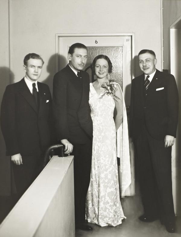Film Actors [second from left Willy Birgel], 1934 (1934)