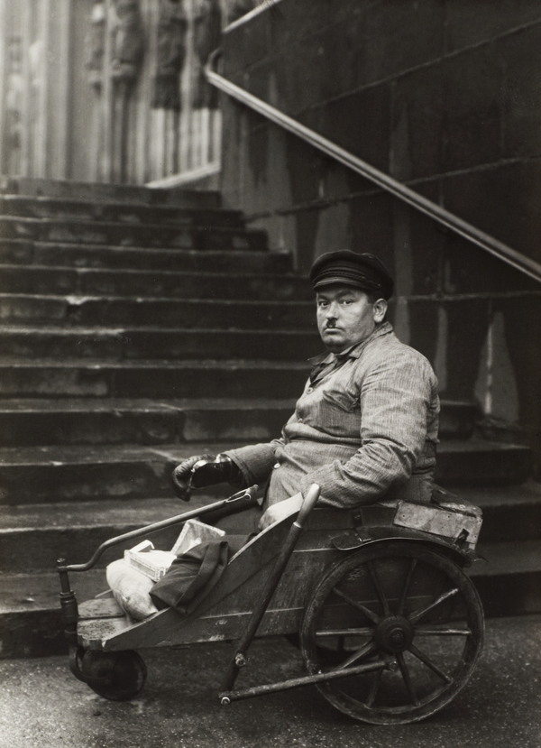 Disabled ex-serviceman, c.1928 (about 1928)