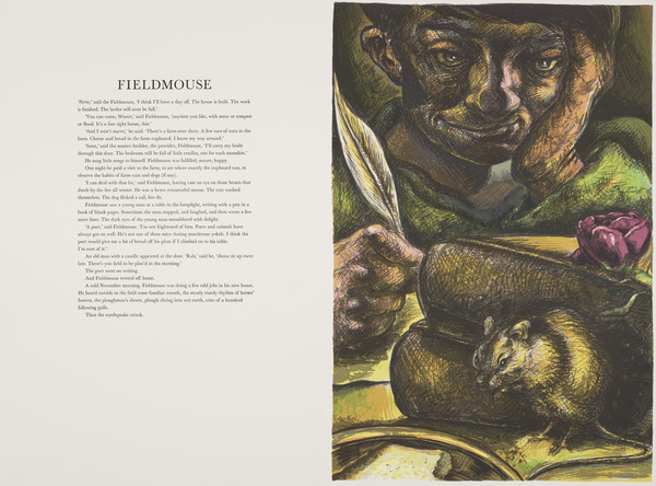 Fieldmouse (from 'The Scottish Bestiary')