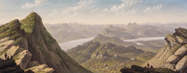 North Western View from Ben Lomond