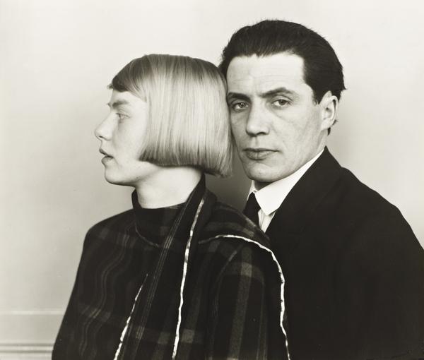The Architect Hans Heinz Luttgen and his Wife Dora, 1926 (1926)