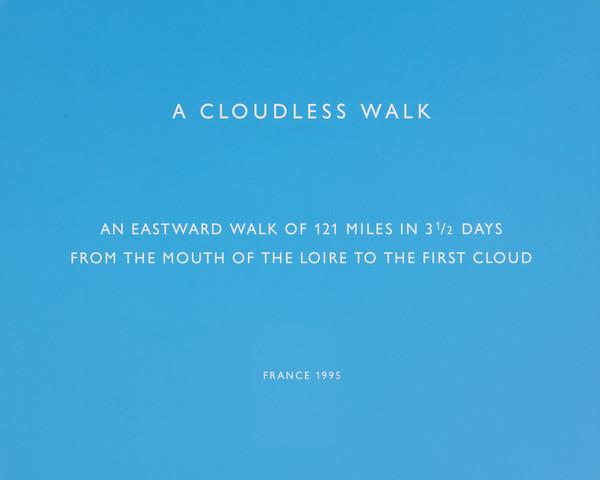 A cloudless walk (from the portfolio Travaux Publics, Public Works)