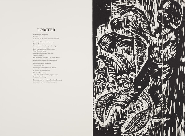 Lobster (from 'The Scottish Bestiary')