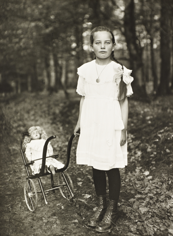 Girl with Carriage, about 1927-30
