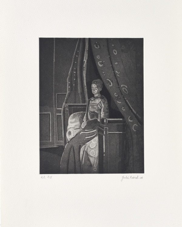 Woman Seated on a Bed, Dieppe (from Sickert's Shadow Portfolio)