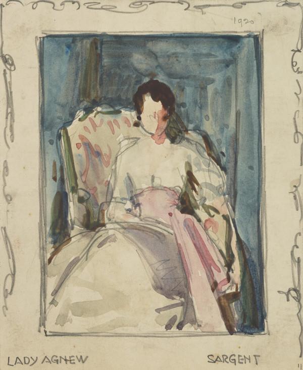 Lady Agnew of Lochnaw (1864-1932)