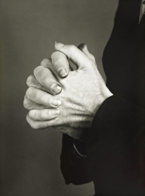 Studien - Der Mensch [Hands of a touring Actor], c.1929 (about 1929)