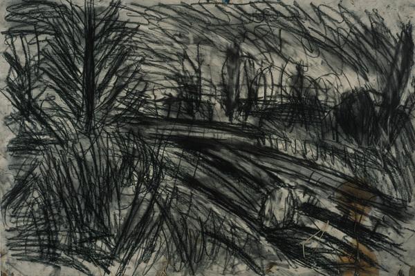 Study for 'Between Kilburn and Willesden Green, Winter Evening'