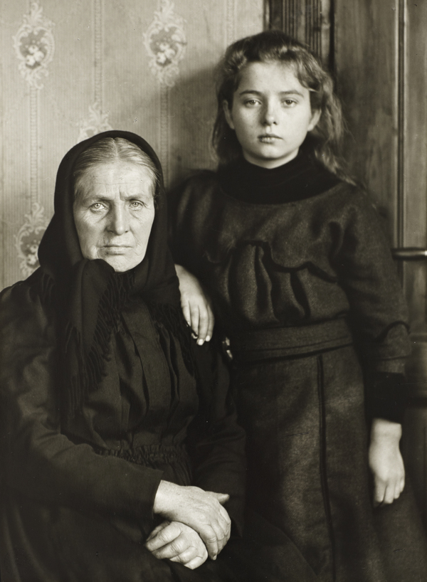 Grandmother and Granddaughter, 1911-14 (1911 - 1914)