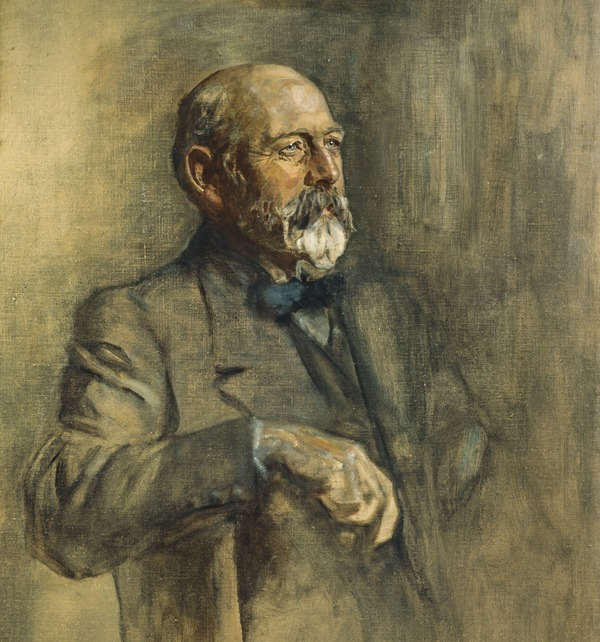 Sir Joseph Cook, 1860 - 1947. Prime Minister of Australia. (Study for portrait in Statesmen of the Great War)