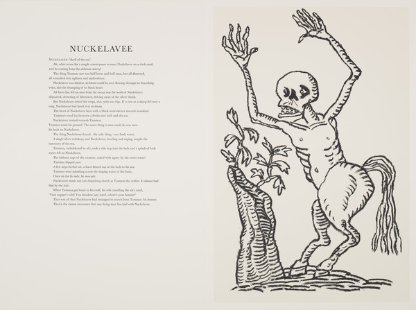 Nuckelavee (from 'The Scottish Bestiary')