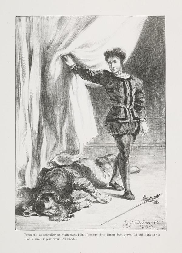 Hamlet et le Cadavre de Polonius' (Hamlet and Polonius' Corpse) (Act III, Scene IV)