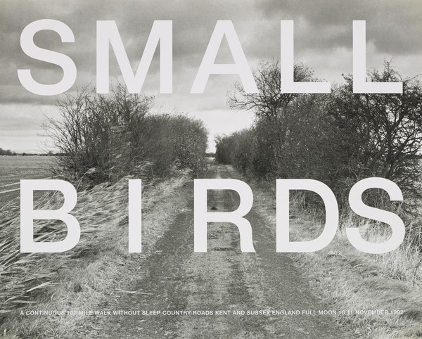 Small Birds / A Continuous 101 Mile Walk without sleep / Country Roads Kent and Sussex England / Full Moon 10 11 November 1992 (from the...