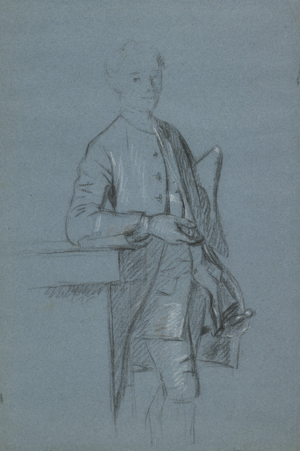 Study for the Painting of George Bristow, 1727 - 1815. Barrister