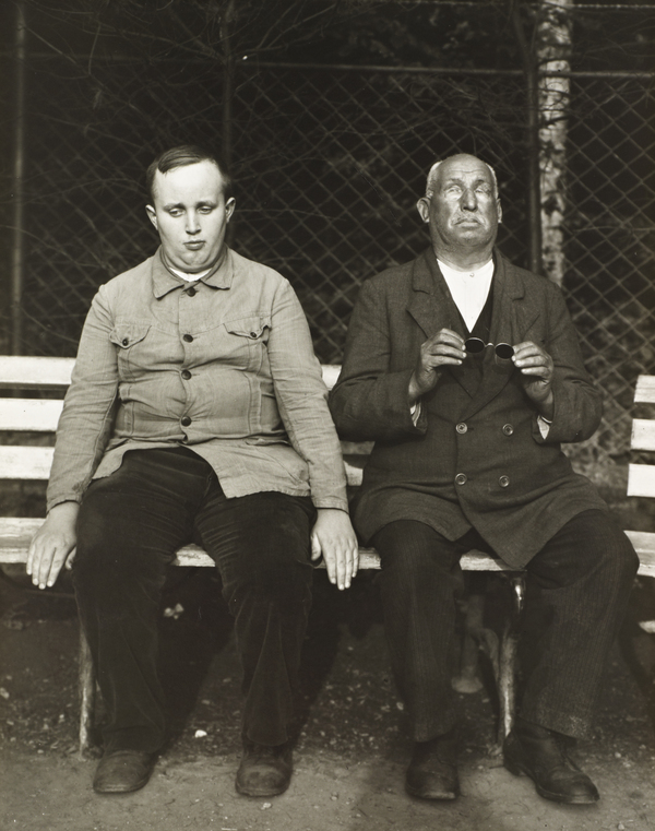 Blind People, c.1930 (about 1930)