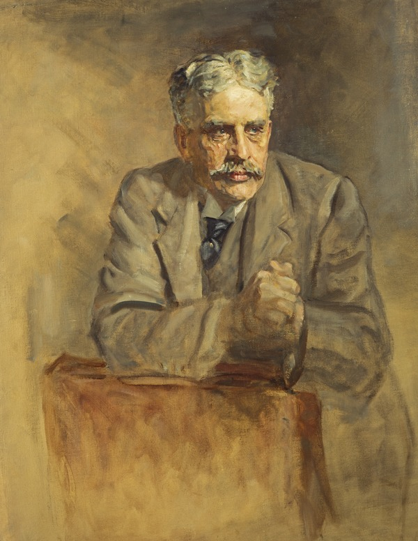 Sir Robert Laird Borden, 1854 - 1937. Prime Minister of Canada. (Study for portrait in Statesmen of the Great War, National Portrait Gallery,...