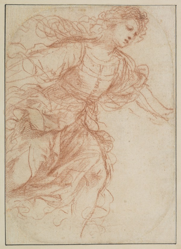 Study for the Painting 'Erminia Finding the Wounded Tancred'