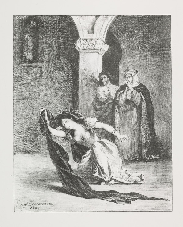 Le Chant D'Ophelie' (Ophelia's Song) (Act IV, Scene V)