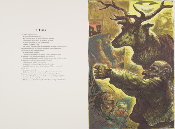 Stag (from 'The Scottish Bestiary')