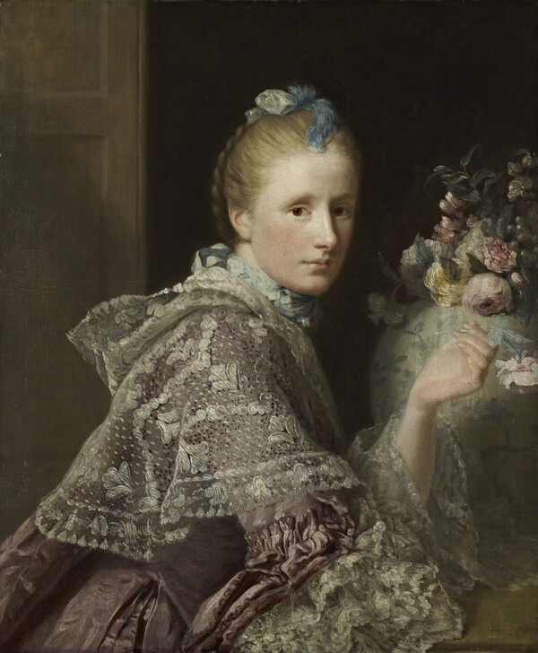 Margaret Lindsay of Evelick: The Artist's Wife, about 1726 - 1782