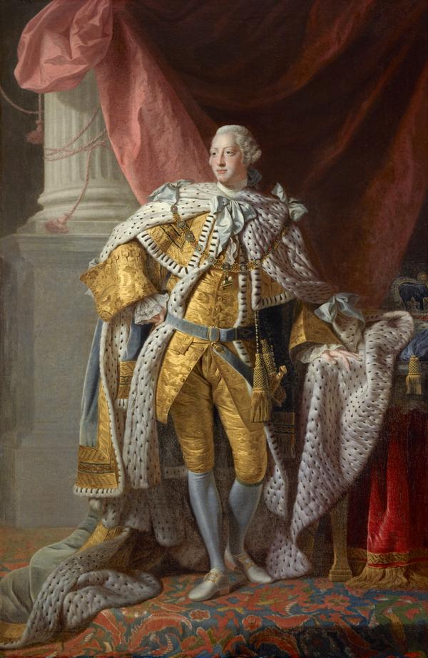 George III, 1738 - 1820. Reigned 1760 - 1820