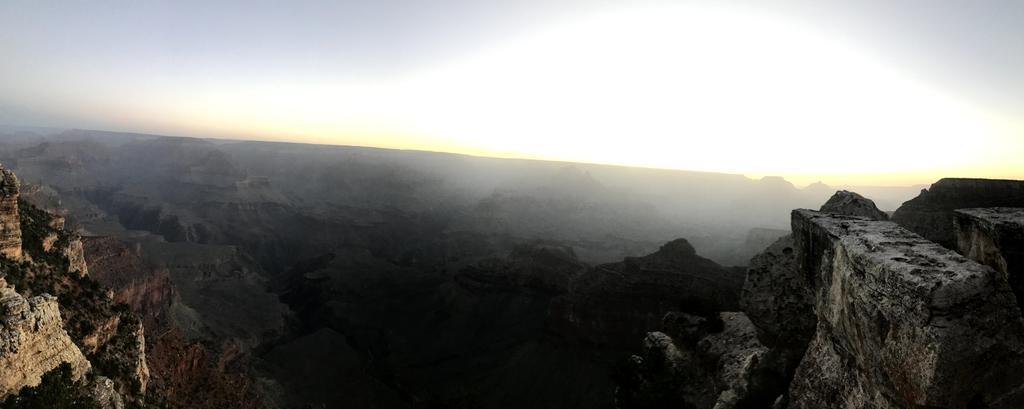 The grandeur of the landscape is breathtaking