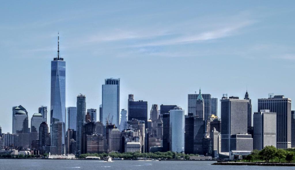 The iconic skyline