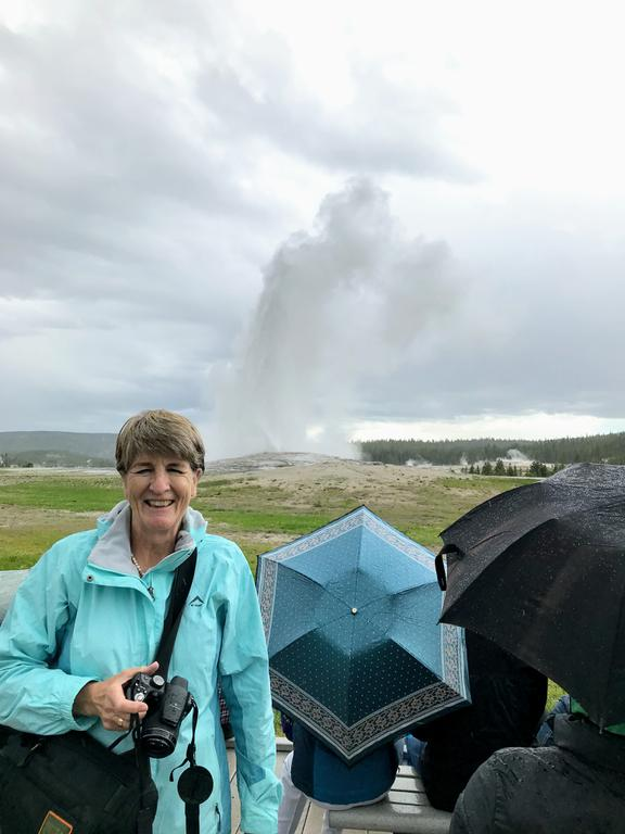 Bang on time! If someone doesn't understand the Gaussian distribution then spend some time at Yellowstone waiting for Old Faithful to do its thing