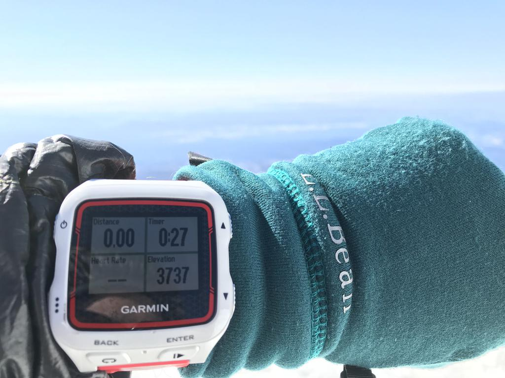 Garmin confirms ~12,280ft elevation