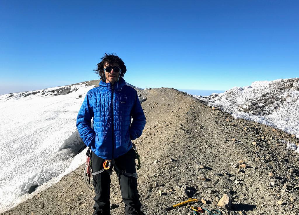 Carlo on the summit