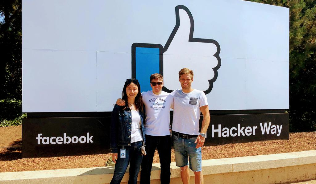 We got a private tour of Facebook