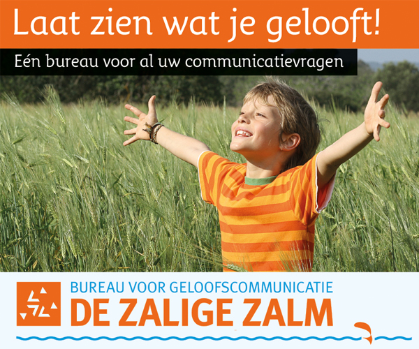 De Zalige Zalm is een bureau voor geloofscommunicatie en ondersteunt gemeenten parochies.