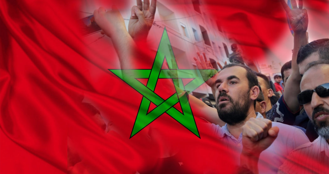 Marokko-protest