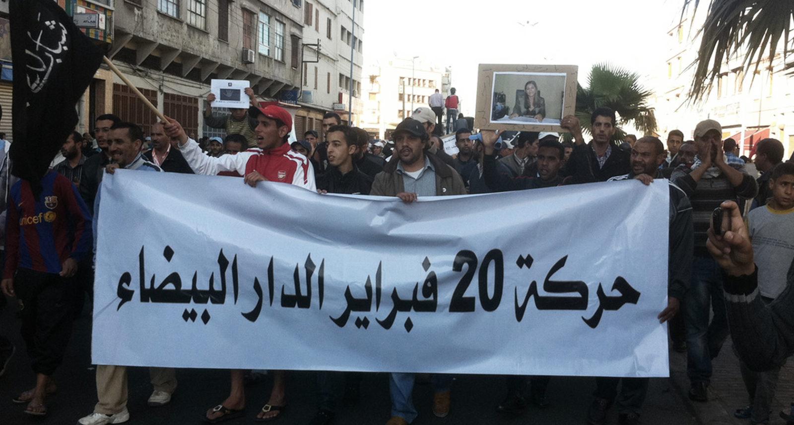 Marokko-protest2