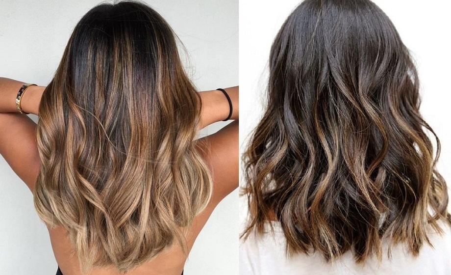 Balayage bij zwart haar \u2013 Cheveux Naturels 2019